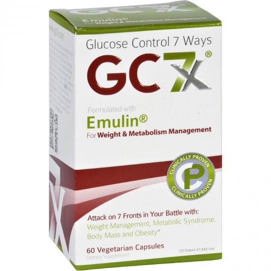 Gc7X Weight and Metabolism  60 Vegetarian Capsules
