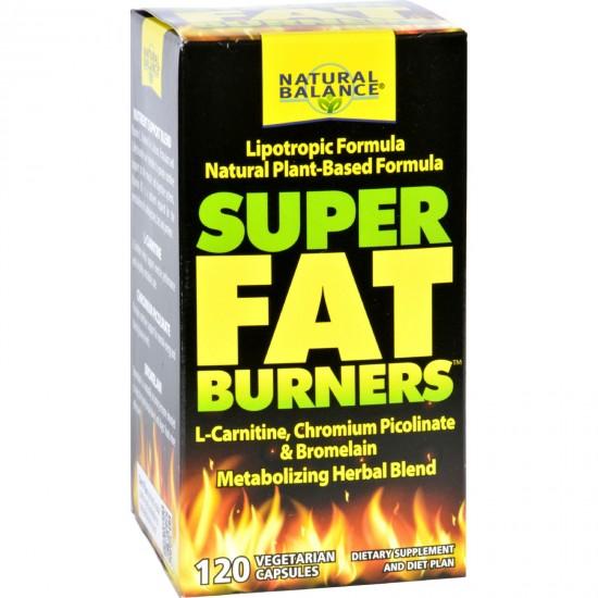 Natural Balance Super Fat Burners  120 Vegetarian Capsules
