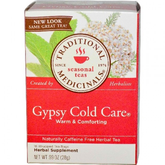 Traditional Medicinals Gypsy Cold Care Herb Tea (6x16 Bag)