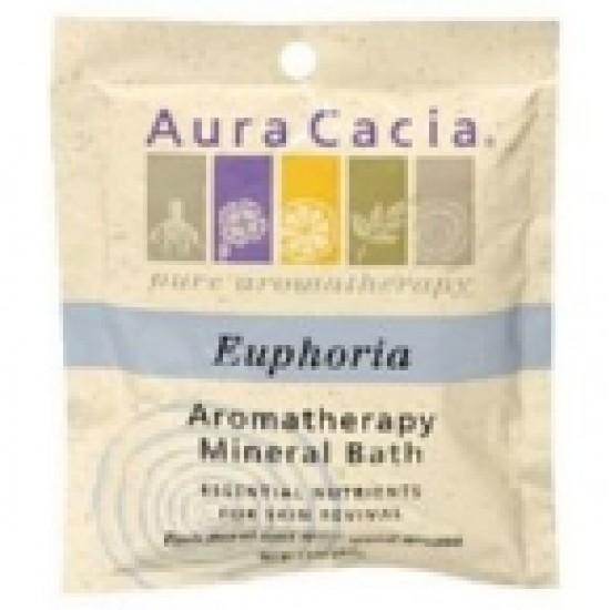 Aura Cacia Euphoria Mineral Bath (6x2.5 Oz)