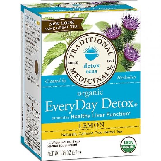 Traditional Medicinals Everyday Detox Herb Tea (6x16 Bag)