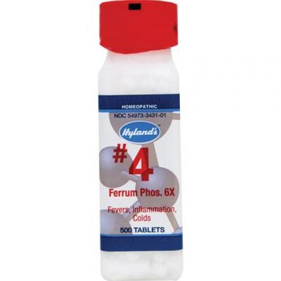 Hyland's Ferrum Phos 6x Cell Salt (1x500 TAB)