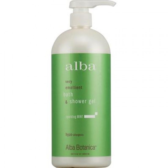 Alba Botanica Sparkling Mint Body Bath (1x32 Oz)