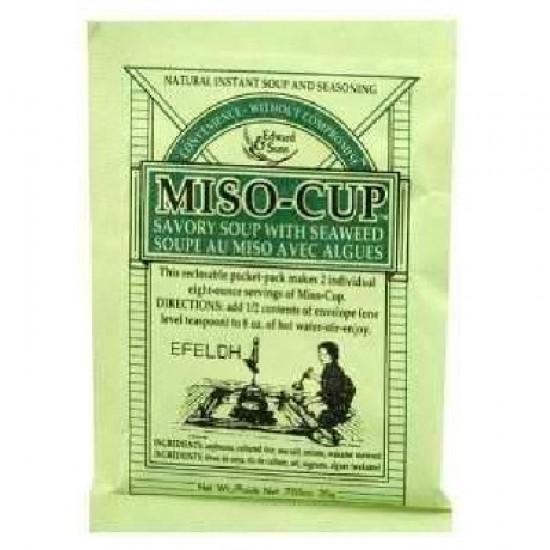 Edward & Sons Miso Cup Seaweed (24x0.7OZ )