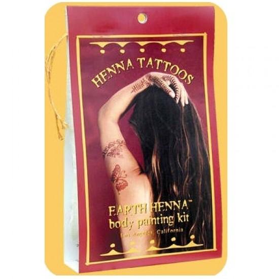 Earth Henna Lm Hnna Mini Body Paint K (1x1KIT )