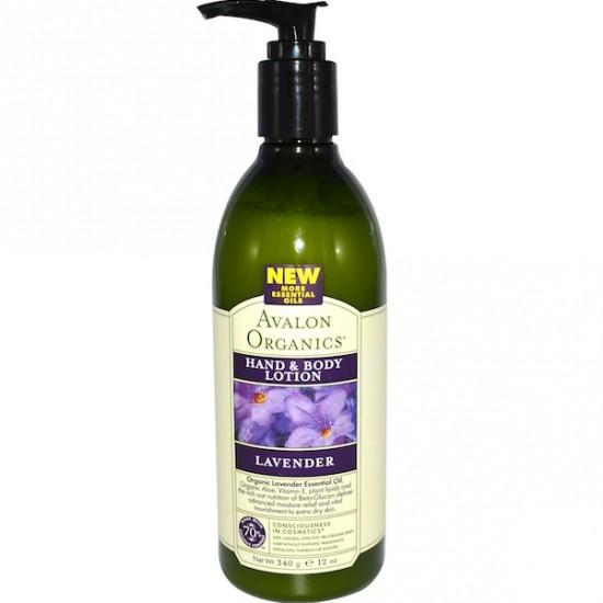 Avalon Organics Lavender Lotion (1x12OZ )