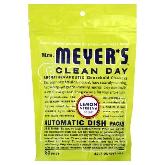 Mrs Meyers Auto Dshwsh Pks Lem (6x12.7OZ )