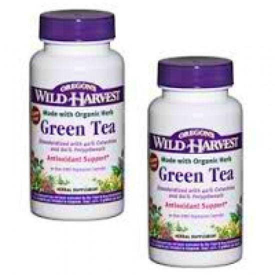 Oregon's Wild Harvest Green Tea (1x90VCAP)