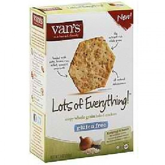 Van's International Foods Everything Crackers (6x5OZ )
