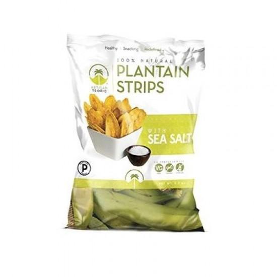 Artisan Tropic Plantain Strips with Sea Salt (12x4.5 OZ)