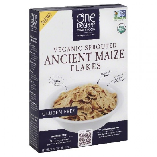 One Degree Organic Foods  Odof Ancient Maize Flake (6X12 OZ)