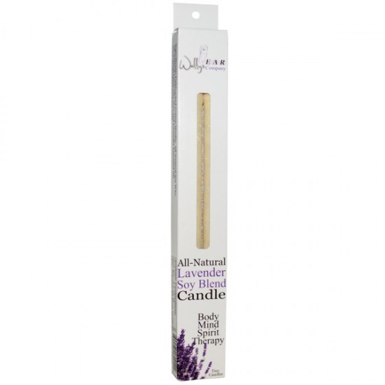 Wally's Natural Soy Blend Lavender Ear Candles  (1x2 EACH)