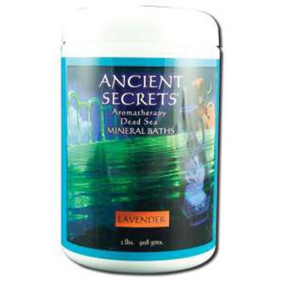Ancient Secrets Aromatherapy Dead Sea Mineral Baths Lavender (1x2 Lb)