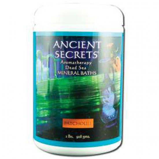 Ancient Secrets Aromatherapy Dead Sea Mineral Baths Patchouli (1x2 Lb)
