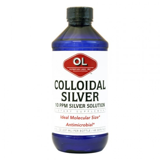 Olympian Labs Colloidal Silver 10 ppm (8 fl Oz)