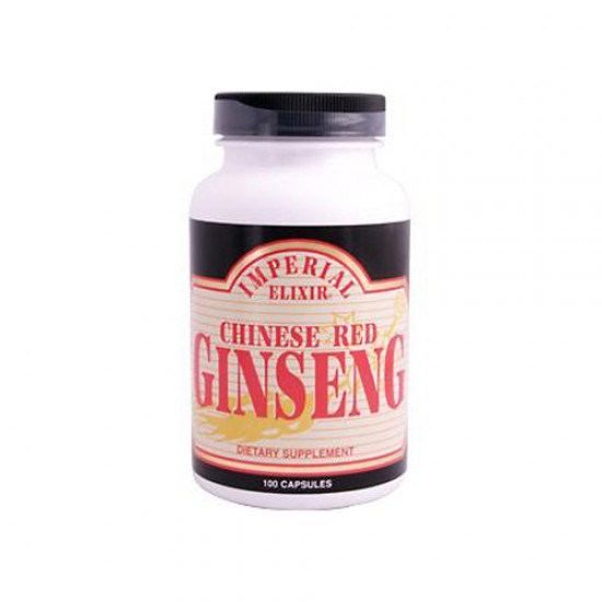 Imperial Elixir Chinese Red Ginseng 100 Caps