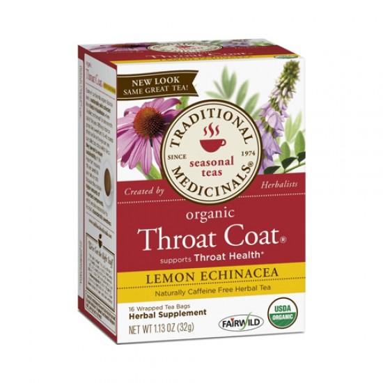 Traditional Medicinals Lemon Echinacea Throat Herb Tea (1x16 Bag)