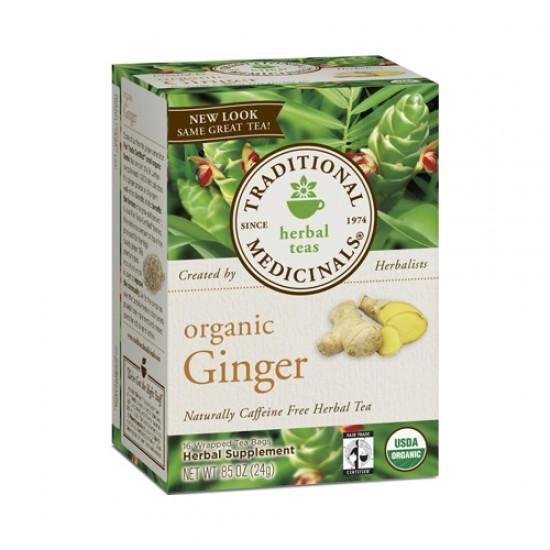 Traditional Medicinals Ginger Tea (1x16 Bag)