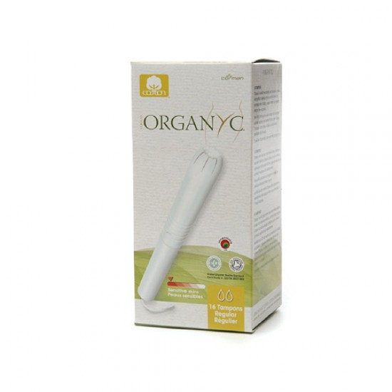 Organyc Cotton Tampons Regular Apple (1 x16 Count)
