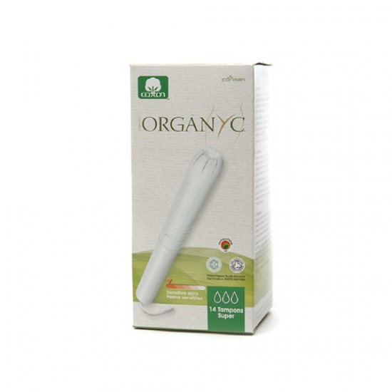 Organyc Cotton Tampons Supreme Apple (1 x1 Count)