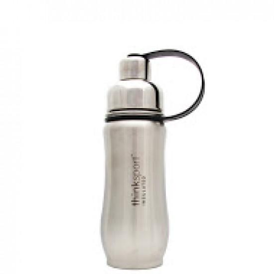 Thinksport Stainless Steel Sports Bottle Silver (1x12 Oz)