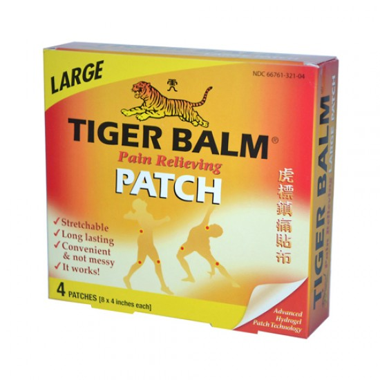 Tiger Balm Pain Relieving Large Patches (6x4 ct)
