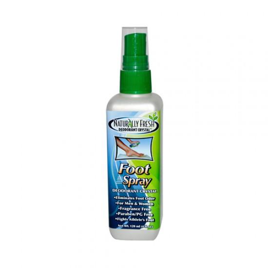 Naturally Fresh Foot Spray Deodorant Crystal (4 fl Oz)