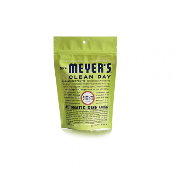 Mrs Meyers Auto Dshwsh Pks Lem (1x12.7Oz)