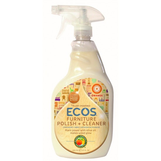 Earth Friendly Furniture Polish With Natural Olive Oil (1x22Oz)