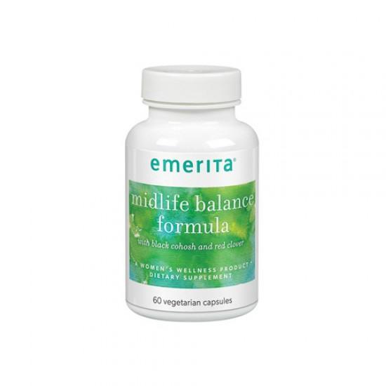 Emerita Midlife Balance Formula (60 Veg Caps)