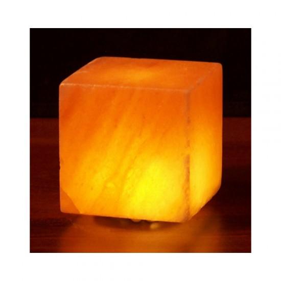 Himalayan Salt Cube Salt Lamp USB 3 in
