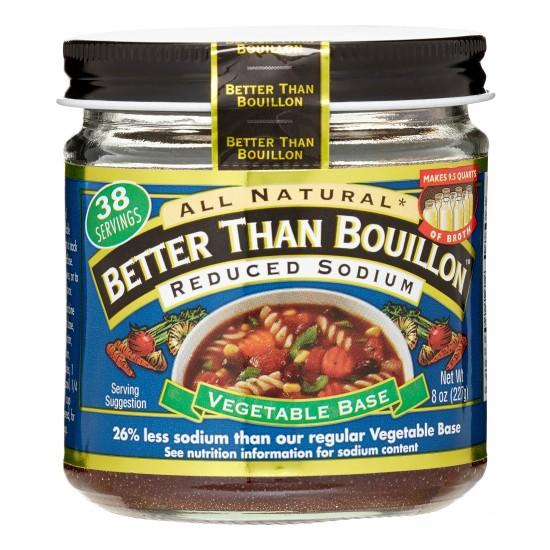Better Than Bouillon Reduced Sodium Vegetable Base (6x8 Oz)