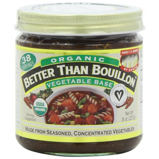 Better Than Bouillon Organic Seasoned Vegetable Base (6x8 OZ)