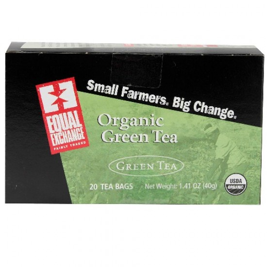 Equal Exchange Green Tea (6x20 Bag)