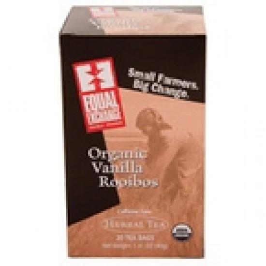 Equal Exchange Herbal Vanilla Rooibos Tea (6x20 Bag)