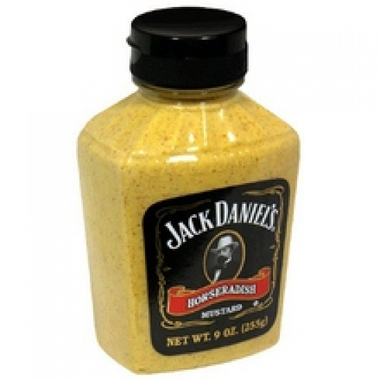 Jack Daniels Horseradish Mustard (6x9 Oz)